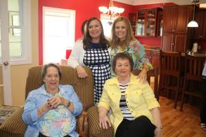 New Mom, Sister and baby's great-grandmothers
