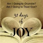 31 days of Joy