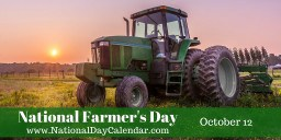 national farmer day
